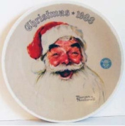 """""""Santa Claus"""" - Norman Rockwell Society Collector Plate"""