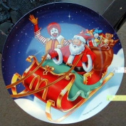 McDonalds Christmas Plate from 1997