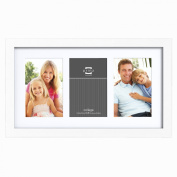 Prinz Matted 3-Opening Gallery Expressions Collage Frame, 10cm by 15cm , White Finish
