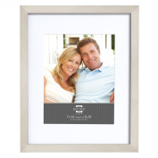 Prinz 28cm by 36cm Matted to 20cm by 25cm Gallery Expressions Frame, Nickel Finish