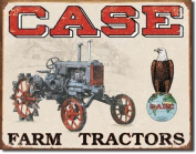 Case Tractor - CC High Clearance Metal Tin Sign 41cm W x 32cm H
