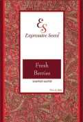 6 Pack Fresh Berries Large Scented Sachet Envelope By Expressive Scent