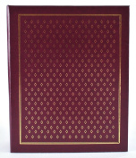Pinnacle Frames and Accents Diamond 400-Pocket Ring Bound Photo Album, Assorted Colours