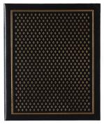 Pinnacle Frames and Accents Black Diamond 440-Pocket Ring Bound Photo Album