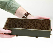 STEELCAT Steel Honeycomb Catalytic Combustor (CS-526) for BLAZE KING woodstove models Chinook, Sirocco, and Ashford. Measures 10cm by 27cm by 5.1cm , 16 cells per square inch and canned. STEEL HEATS UP FASTER THAN CERAMIC RESULTING IN MO ..