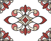 Brewster SG0311 27cm -by-20cm Westwood Stained Glass Applique