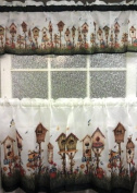 Home Sweet Home Complete 60cm Tier & Valance Set