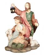 Avon Holiday Treasures Nativity Figurine Blessed Visitors Shepherds