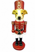 Greyhound Ornament Nutcracker