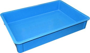 MFG Tray 8750085268 Toteline Stacking Container, Glass Fibre Reinforce, Plastic Composite, 70cm x 45cm x 11cm , Blue