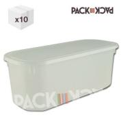 5 Litre Napoli Ice Cream Container /Rectangular storage container