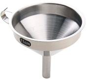 Utopia Kitchen Premium 3-Piece Stainless Steel Funnel Set