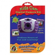 Kidz Digital Camera Kit - Purple