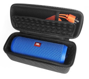 FitSand (TM) Carry Travel Zipper Portable Protective EVA Storage Hard Case Box Cover Bag for JBL Flip 3 Bluetooth Speaker - Fits the Charger Cable
