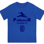 """Boys """"Parkour Legend at 23cm Birthday T Shirt Gift for Aspiring Free Running Enthusiasts"""