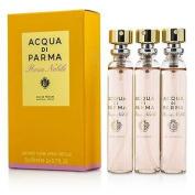 Acqua Di Parma Rosa Nobile Leather Purse Spray refills 3 x 20ml