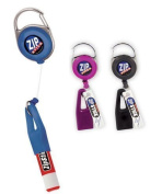 Zip Stick Retractable Lip Balm Holder (Single- Assorted Colours) by Bar Products