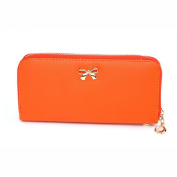 Tonsee® Women's Bowknot Purse Solid Wearable Wallet Handbag