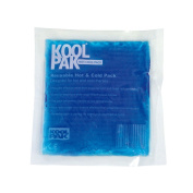 Koolpak Reusable Hot and Cold Gel Pack - Small - 13cm x 14cm