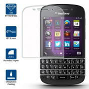 Beiuns Tempered Glass Screen Protector Ultra-Hard for BlackBerry Q10