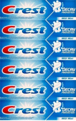 TWELVE PACKS of Crest Decay Prevention Toothpaste 100ml