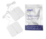 TensCare 50 x 100 mm New Model MamaTENS MyTime Electrode Pads with Integral Lead Wire, Pack of 4