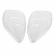 Footful Silicone Gel Front Pad Cushion Half Insoles Soft Pad for Women