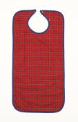 NRS Economy Clothing Protector Bib - Long - Red