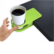 LEORX Cup Holder Clip Plastic Clip On Table Cup Holder Clip Clamp