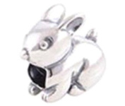 Hare - Women's Charm - for Pandora Jewellery or Similar - 100% 925 Sterling Silver