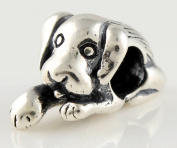 Women's Charm for Pandora Jewellery 925 Sterling Silver in Form of Jolly Dog