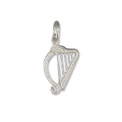 Charms - Silver Harp