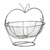 Attractive New Design . Fruit Basket Chrome For Home Dining Kitchen