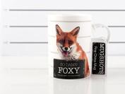 Mugshots So Damn Foxy Tall Fine China Mug