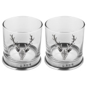 STAG DOUBLE TUMBLER