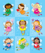 Fairies Prize Pack Stickers