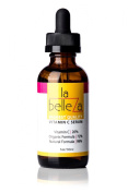 Vitamin C Serum for Face with Vitamin C 20%. Organic Ingredients with Amino Acids and Vegan Hyaluronic Acid Base - La Belleza