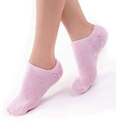 Cracked Dry Skin Care Cream Oil Moisture Moisturising Gel Spa Socks and Gloves for Smooth Soft Hands (Socks)