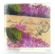 Mixed Lilac Big blooms, Hydrangea Postcard theme soap, Pretty as a picture soap