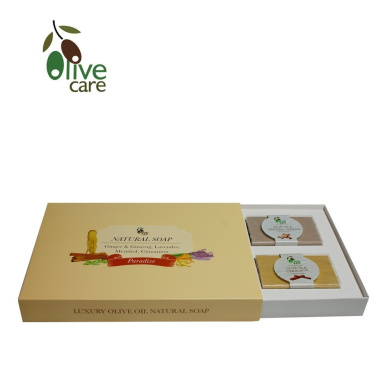 Olivecare Olive Oil Natural Soap - PARADISE SELECTION GIFT SET