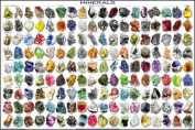 Minerals Poster - Educational and Decorative 36 x 24