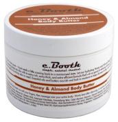 C.Booth Honey & Almond Body Butter 240ml Jar
