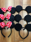 12- Mickey Mouse Headbands, Mickey Mouse Ears, Mickey Mouse Headband, Minnie Mouse Headbands, Minnie Mouse Ears