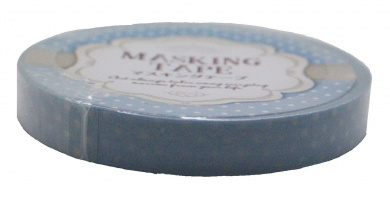 Amifa Blue Small Polka Dot Edition Masking Washi Deco Tape