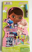 Doc Mcstuffins Glitter & Jewel Wooden Doll and Story Book