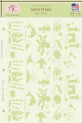 Sand N Sea Stencil, 20cm - 1.3cm x 28cm