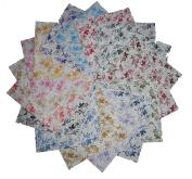 60 13cm Beautiful Whisper Calico Quilt Fabric Squares
