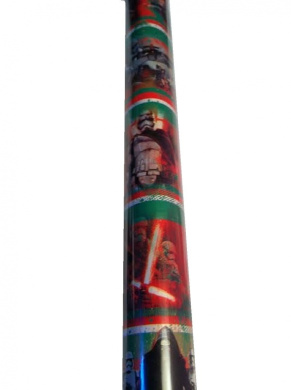 Gift Wrap ~ STAR WARS ~ Wrapping Paper - 1 ROLL (VILLAINS)