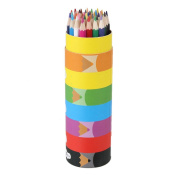 Professional Art 36 Colours Drawing Pencils Non-toxic For Kids Drawing Sketches With Cartoon Cylinder