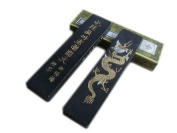 Hukaiwen Ink Block Handmade Fine Lacquer Smoke Ink Stick for Chinese Traditional Calligraphy and Painting CdqTzhk 31g